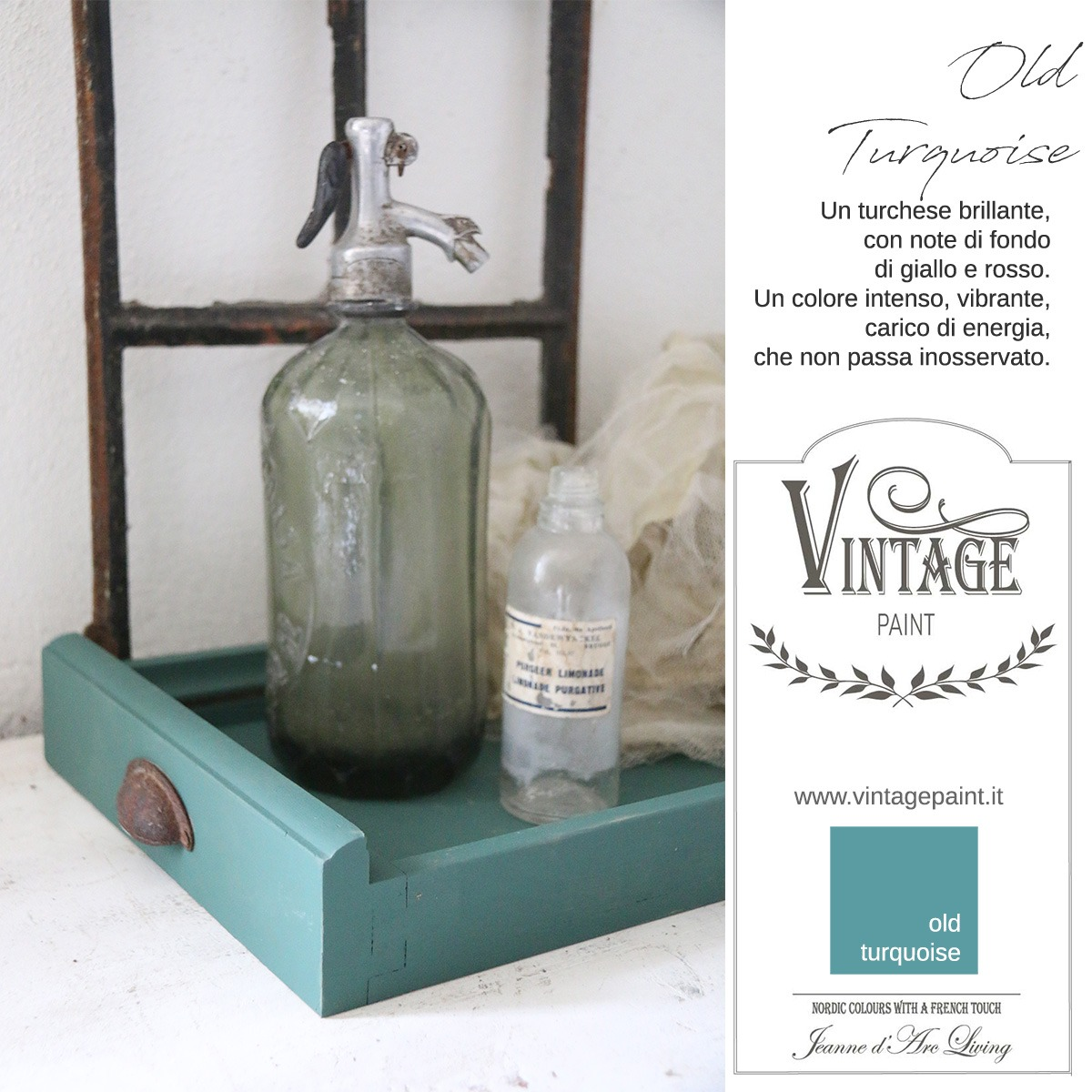 old turquoise