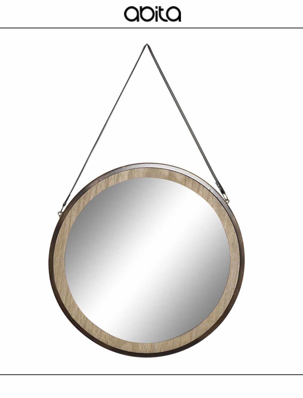 specchio in metallo