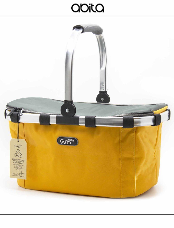 shopper termico giallo