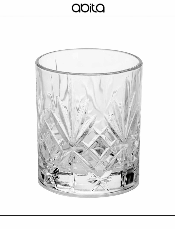 SET DA 6 LIQUORINI LIBERTY CRYSTAL GLASS