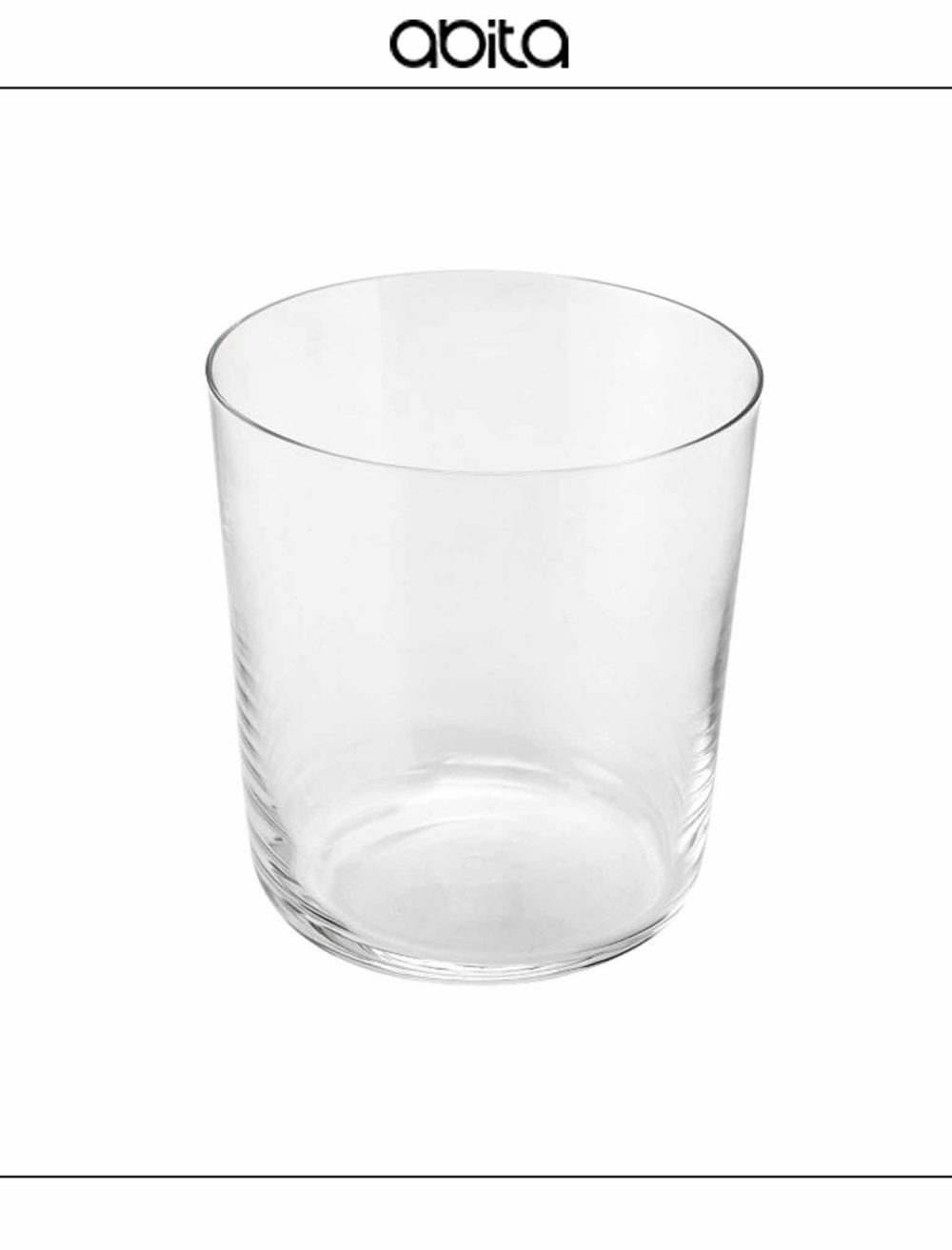 SET DA 6 BICCHIERI ESSENTIAL CRYSTAL GLASS