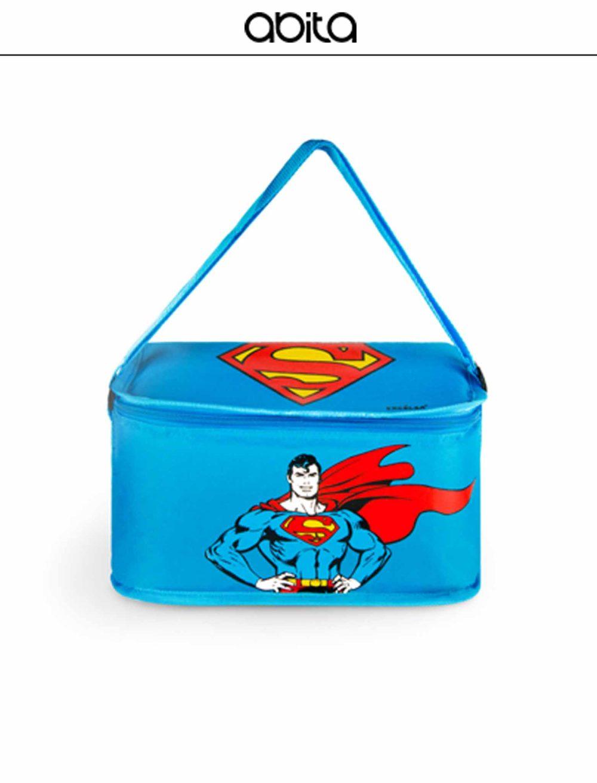 LUNCH BOX SUPERMAN AZZURRA
