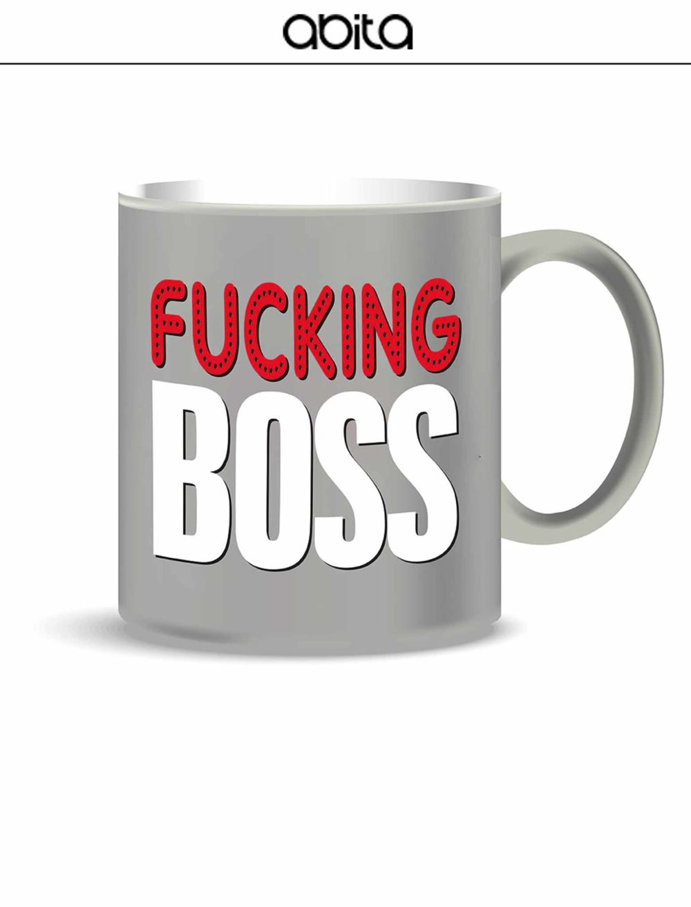 MUG FUKING BOSS GRIGIA