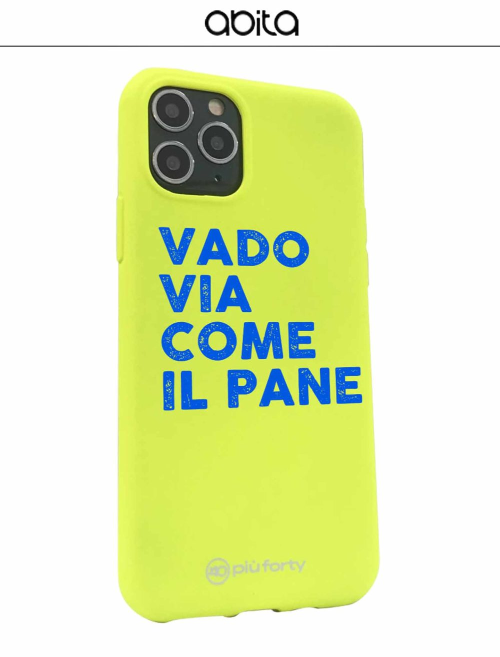 COVER VADO VIA COME IL PANE IPHONE
